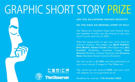 Jonathan Cape / The Observer graphic short story competition