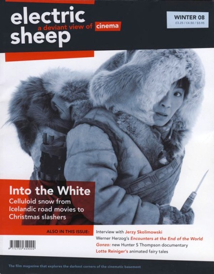 Electric Sheep Magazine Winter 2008 cover