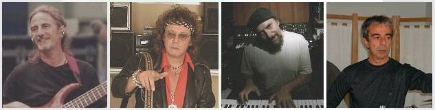 Goblin circa 2009 - Fabio Pignatelli / Massimo Morante / Maurizio Guarini / Agostino Marangolo