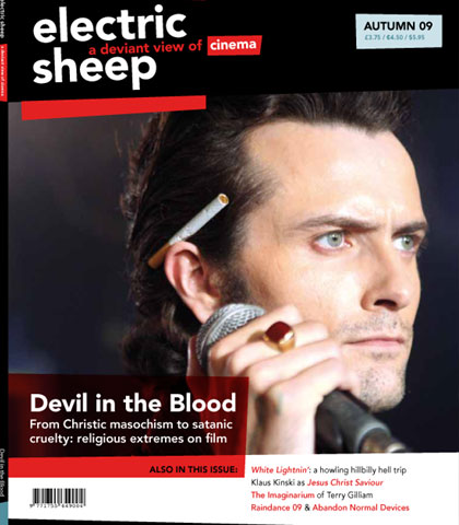 Electric Sheep Magazine Autumn 2009 cover