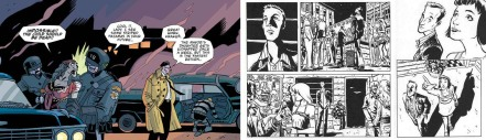 Excerpts from The Umbrella Academy by Gabriel Ba & Gerard Way and De:tales by Ba and Fabio Moon