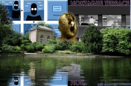 The Battersea Pump House Gallery with Hypercomics by Daniel Merlin Goodbrey, Dave McKean and Warren Pleece beyond