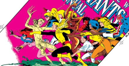 New Mutants and Captain Britain by Chris Claremont and Alan Davis
