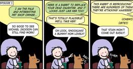 Pet Shop of Horrors comic review
