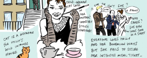 Extract of Breakfast at Tiffanys review by Francesca Cassavetti