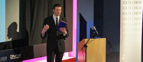 Tom Hunter at Sci-Fi London, photo (c) 2010 Craig Grobler