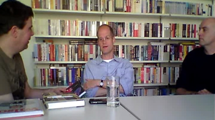 Alex Fitch interviews Chris Ware and Daniel Clowes
