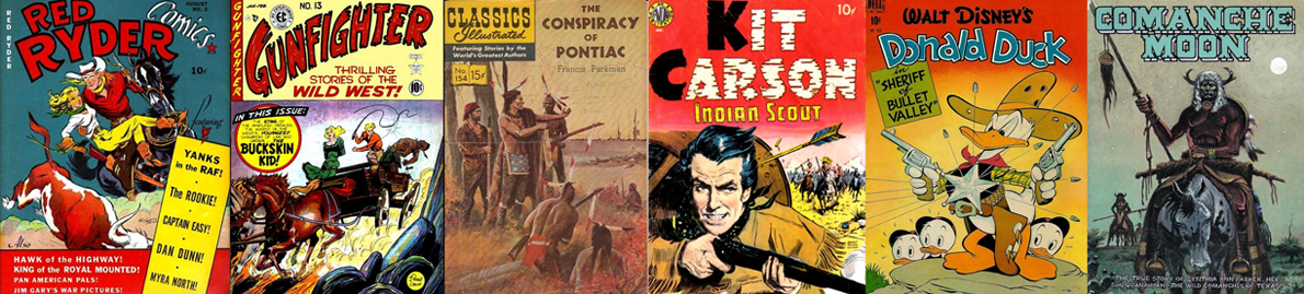 Various Western themed comics 1950-1979