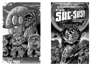 A Thief in the Night and She-sus by Mark Stafford