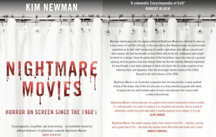 Nightmare Movies by Kim Newman, 2011 edition, published by Bloomsbury
