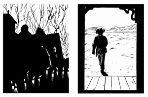 The Hourglass Sanitorium and The Searchers by Sean Azzopardi