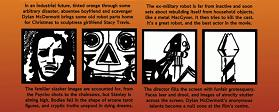 Extract from Hardware comic strip review by Douglas Noble