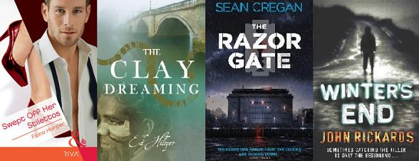 Covers of books by Fiona Harper, Ed Hillyer and Sean Cregan / John Rickards