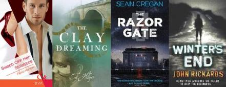 Covers of books by Fiona Harper, Ed Hillyer, Sean Cregan / John Rickards