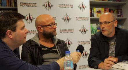 Alex Fitch interviews Dan Abnett and Andy Lanning