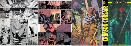 Future Shock, Judge Dredd, Watchmen and Before Watchmen art by John Higgins (copyright Rebellion / DC Comics 2012)