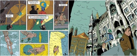 Excerpts from Blake and Mortimer Vol.11: The Gondwana Shrine by Yves Sente and André Juillard / Hector Umbra by Uli Oesterle