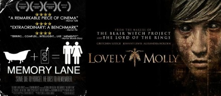 Posters for Memory Lane and Lovely Molly