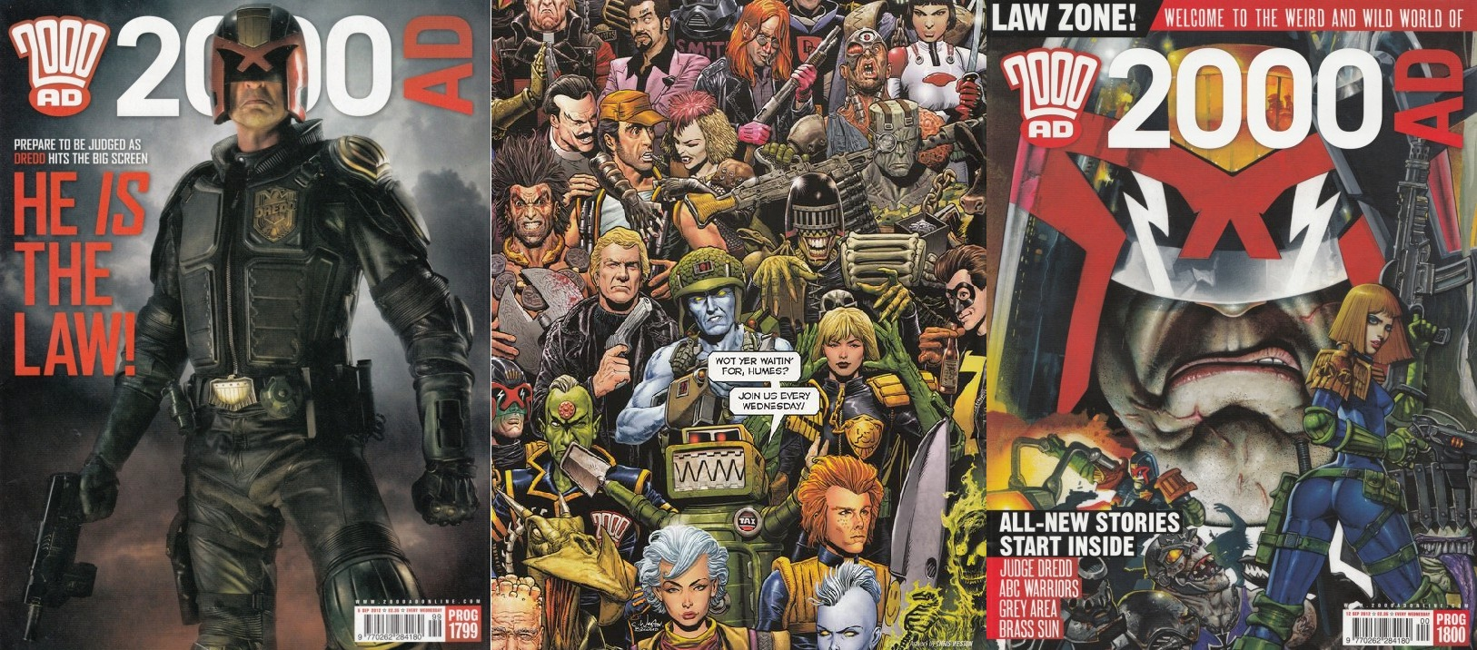 Covers of 2000ad Progs 1799