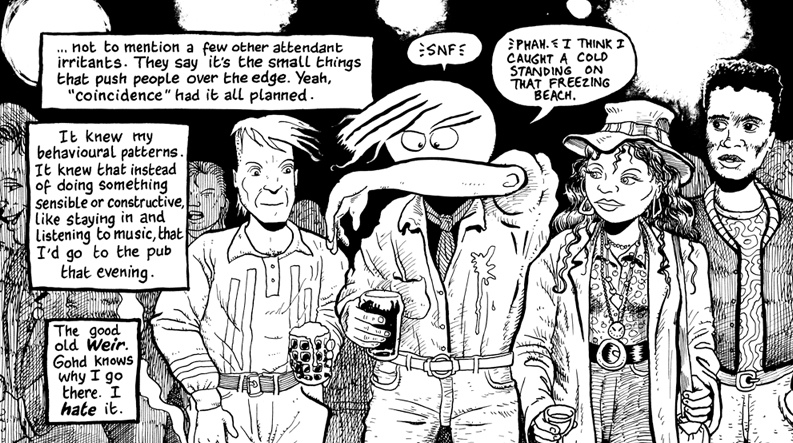 Panel from Hugo Tate by Nick Abadzis