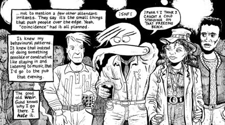 Panel from Hugo Tate by Nick Abadzis