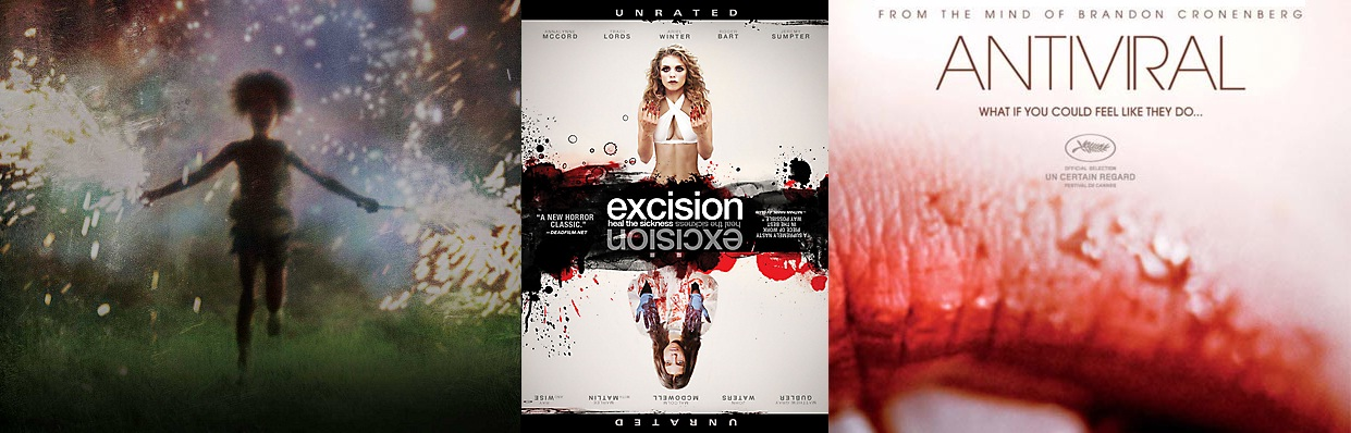 Posters for Beasts of the Southern Wild, Excision, Antiviral