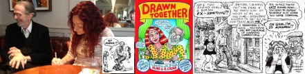 Robert Crumb and Aline Kominsky-Crumb, interior and cover art from Drawn Together