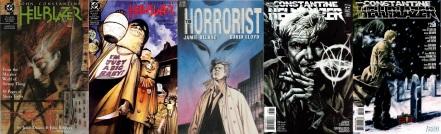 Hellblazer comics by Jamie Delano, David Lloyd, Andy Diggle and Peter Milligan