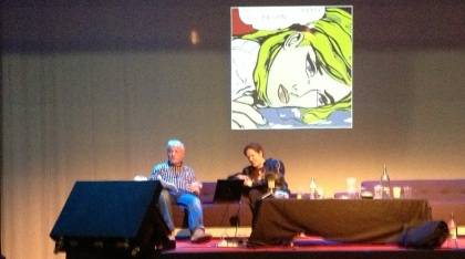 Richard Reynolds and Rian Hughes discuss fine art and comics at Comica Comiket, Spring 2013