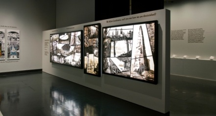 Photo of Memory Palace exhibition at the Victoria and Albert Museum
