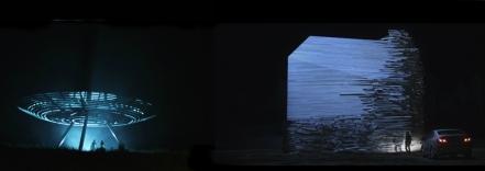 Stills from Piercing Brightness and Vanishing Waves