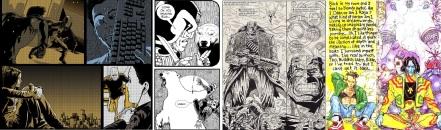 Babble / Judge Dredd by Lee Robson and Bryan Coyle / Bad Company by Peter Milligan, Brett Ewins and Jim McCarthy / Rogan Gosh by Milligan and Brendan McCarthy