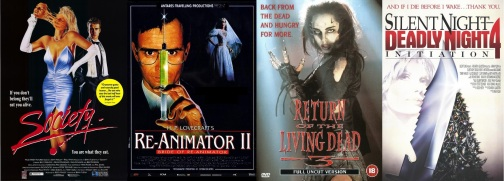 Four films by Brian Yuzna