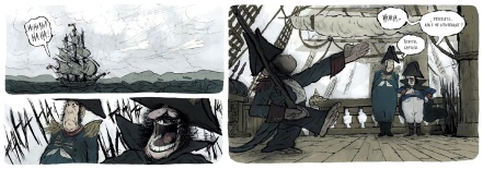 Excerpt from The Hartlepool Monkey by Wilfrid Lupano and Jérémie Moreau