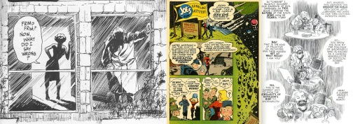 Extracts from A Contract with God, P.S. Magazine and The Plot by Will Eisner