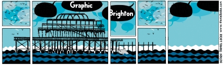 Widescreen Graphic Brighton logo by Daniel Locke