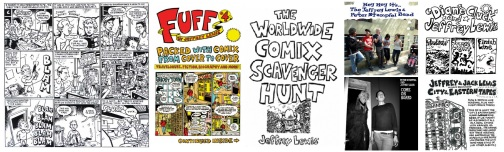 Comics and album covers by Jeffrey Lewis