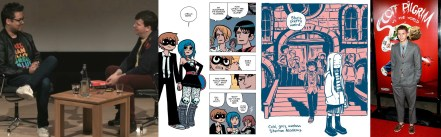 Bryan O'Malley and Alex Fitch, Scott Pilgrim, Lost at Sea, Michael Cera