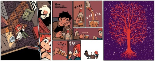 Pages from Seconds by Bryan Lee O'Malley
