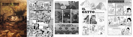 Cover and interior pages from To End All Wars by Brick, Jonathan Clode, Stuart Richards and Selina Lock