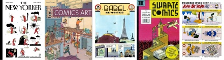 Covers and comic strips by Joost Swarte
