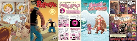 The Musical Monsters of Turkey Hollow / Popeye / Pinkbeard the Pirate! / Abigail and the Snowman / Snarked by Roger Langridge