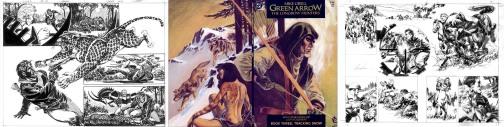 Jon Sable, Green Arrow, James Bond art by Mike Grell