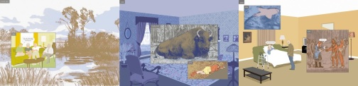 Pages from Here by Richard McGuire