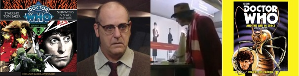 David Troughton / Jon Culshaw / Covers of The Hexford Invasion and the Ark in Space