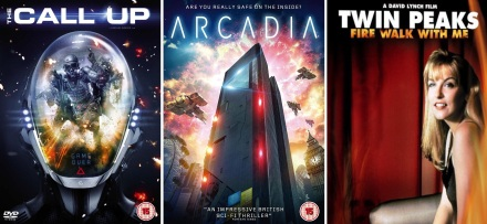 DVD covers of The Call-Up / Arcadia / Fire Walk With Me