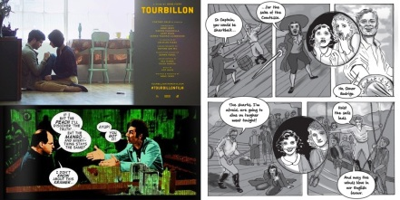 Tourbillon poster/ panels from The Seinfeld Matrix / Elsie Harris, Picture Palace