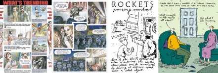 Pages from Livestock by Hannah Berry / cartoons by Steven Appleby